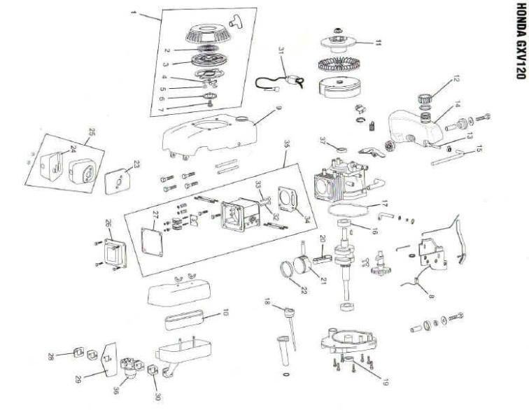 similiar honda gx160 engine parts keywords honda engine gx160 parts diagram further honda gx390 engine parts