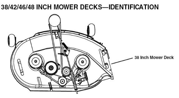 John Deere 48 Mower Deck Belt Diagram on john deere mower parts diagram